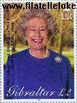 Gibraltar gib 971#  2001 Koningin Elizabeth- Verjaardag  Postfris