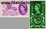 Groot-Brittannië grb 339#340  1960 General Letter Office  Postfris