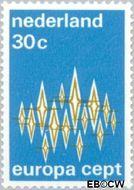 Nederland NL 1007  1972 C.E.P.T.- Communicatie 30 cent  Postfris