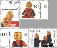 Nederland NL 1020#1023  1972 Prinsen  cent  Gestempeld