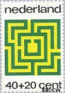 Nederland NL 1040  1973 Spelletjes 40+20 cent  Gestempeld