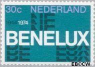 Nederland NL 1055  1974 BENELUX 30 cent  Gestempeld