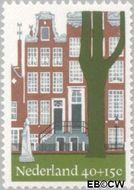 Nederland NL 1069  1975 Architectuur 40+15 cent  Gestempeld