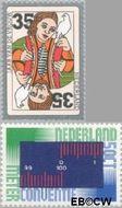 Nederland NL 1075#1076  1975 Diversen  cent  Gestempeld