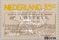 Nederland NL 1084#  1976 Staatsloterij  cent  Gestempeld