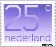Nederland NL 1110a  1976 Cijfer type 'Crouwel' 25 cent  Postfris