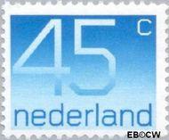 Nederland NL 1112  1976 Cijfer type 'Crouwel' 45 cent  Postfris