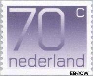 Nederland NL 1117a  1991 Cijfer type 'Crouwel' 70 cent  Gestempeld