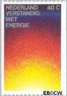 Nederland NL 1128a  1977 Energiebesparing 40 cent  Gestempeld