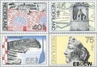Nederland NL 1133#1136  1977 Archeologische vondsten  cent  Gestempeld