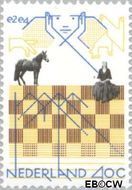Nederland NL 1159  1978 I.B.M. Schaaktoernooi- 18e 40 cent  Gestempeld