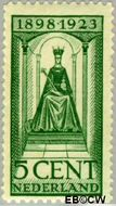 Nederland NL 122  1923 Koningin Wilhelmina- Regeringsjubileum 5 cent  Postfris
