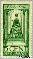Nederland NL 122  1923 Koningin Wilhelmina- Regeringsjubileum 5 cent  Gestempeld