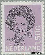 Nederland NL 1244  1986 Koningin Beatrix- Type 'Struycken' 150 cent  Postfris