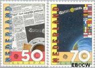 Nederland NL 1285#1286  1983 C.E.P.T.- Grote werken menselijke geest  cent  Gestempeld