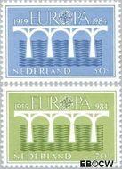 Nederland NL 1307#1308  1984 C.E.P.T.- Brug  cent  Postfris