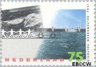 Nederland NL 1362  1986 Voltooiing Deltawerken 75 cent  Gestempeld