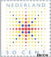Nederland NL 1393  1987 Fonkelende ster 50 cent  Gestempeld