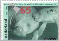Nederland NL 1400  1988 Dieren 65+35 cent  Gestempeld