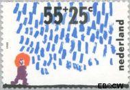 Nederland NL 1415  1988 Kindertekeningen 55+25 cent  Gestempeld