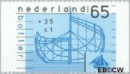 Nederland NL 1427b  1989 Schepen 65+35 cent  Gestempeld