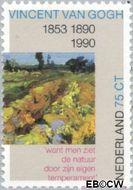 Nederland NL 1443  1990 Gogh, Vincent van 75 cent  Gestempeld