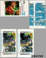 Nederland NL 1447a#1447d  1990 Het weer  cent  Postfris