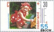 Nederland NL 1447a  1990 Het weer 55+30 cent  Gestempeld