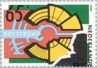 Nederland NL 1449  1990 Rotterdam 65 cent  Gestempeld
