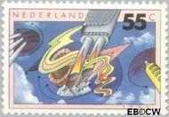 Nederland NL 1462  1991 Milieu 55 cent  Gestempeld