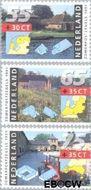 Nederland NL 1468#1470  1991 Boerderijen  cent  Gestempeld