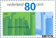 Nederland NL 1482  1991 Bibliotheken 80 cent  Gestempeld