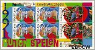 Nederland NL 1486  1991 Kinderspelen  cent  Gestempeld