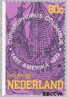 Nederland NL 1528  1992 C.E.P.T.- Ontdekking Amerika 80 cent  Gestempeld