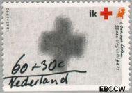 Nederland NL 1535a  1992 Rode Kruis 60+30 cent  Gestempeld