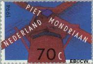 Nederland NL 1595  1994 Mondriaan, Piet 70 cent  Gestempeld