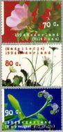 Nederland NL 1601#1603  1994 Natuur en milieu  cent  Gestempeld