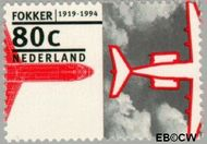 Nederland NL 1606  1994 Fokker 80 cent  Postfris