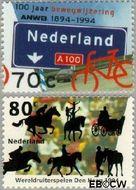 Nederland NL 1616#1617  1994 ANWB en ruiterspelen  cent  Postfris