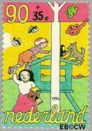 Nederland NL 1626  1994 Spelende kinderen 90+35 cent  Postfris