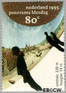 Nederland NL 1632  1995 Panorama Mesdag 80 cent  Gestempeld