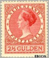 Nederland NL 164  1927 Koningin Wilhelmina- Type 'Veth' 250 cent  Gestempeld