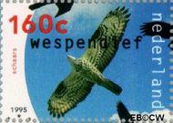 Nederland NL 1652a  1995 Roofvogels 160 cent  Gestempeld