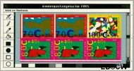 Nederland NL 1661  1995 Computertekeningen  cent  Postfris