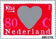 Nederland NL 1709  1997 Kraszegels 80 cent  Gestempeld