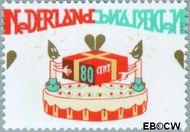 Nederland NL 1721  1997 Verjaardag (taart) 80 cent  Gestempeld