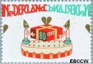 Nederland NL 1721  1997 Verjaardag (taart) 80 cent  Postfris