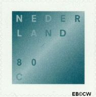 Nederland NL 1746B#  2000 Rouwzegel zelfklevend  cent  Gestempeld