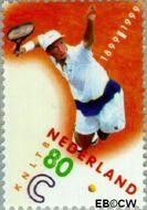 Nederland NL 1813  1999 Kon. Ned. Lawn Tennisbond 80 cent  Gestempeld