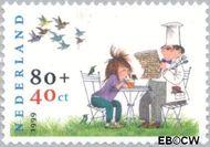Nederland NL 1853  1999 Schmidt, Annie M.G. 80+40 cent  Postfris